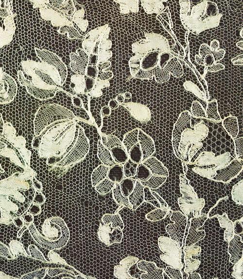 Русское кружево. Деталь воротника. XIX век